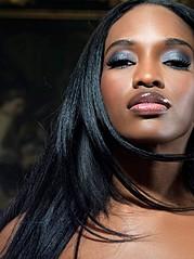 Krystal Nicole model. Photoshoot of model Krystal Nicole demonstrating Face Modeling.Face Modeling Photo #66845