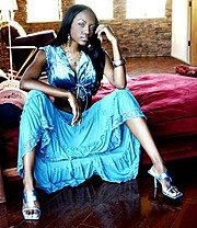 Krystal Nicole model. Photoshoot of model Krystal Nicole demonstrating Fashion Modeling.Fashion Modeling Photo #66851