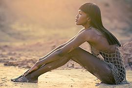 Krystal Nicole model. Photoshoot of model Krystal Nicole demonstrating Body Modeling.Body Modeling Photo #66854