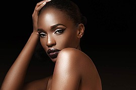 Krystal Nicole model. Photoshoot of model Krystal Nicole demonstrating Face Modeling.Face Modeling Photo #66857