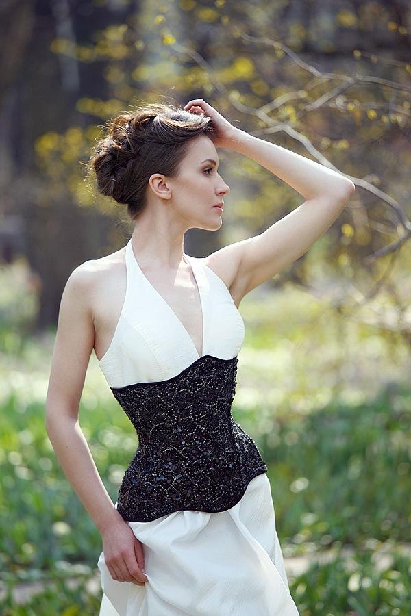 Ksenia Korneychuk model & fashion designer (Ксения Корнейчук модель & модельер). Photoshoot of model Ksenia Korneychuk demonstrating Fashion Modeling.Fashion Modeling Photo #104161