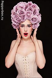 Ksenia Korneychuk model & fashion designer (Ксения Корнейчук модель & модельер). Photoshoot of model Ksenia Korneychuk demonstrating Face Modeling.Face Modeling Photo #104164
