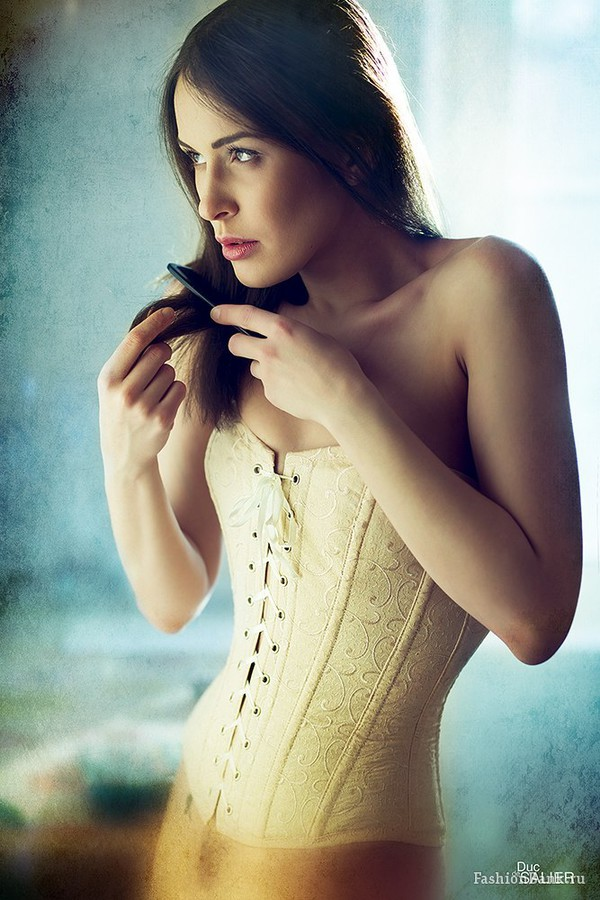 Ksenia Korneychuk model & fashion designer (Ксения Корнейчук модель & модельер). Photoshoot of model Ksenia Korneychuk demonstrating Fashion Modeling.CorsetFashion Modeling Photo #104166