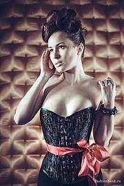 Ksenia Korneychuk model & fashion designer (Ксения Корнейчук модель & модельер). Photoshoot of model Ksenia Korneychuk demonstrating Fashion Modeling.CorsetFashion Modeling Photo #104167