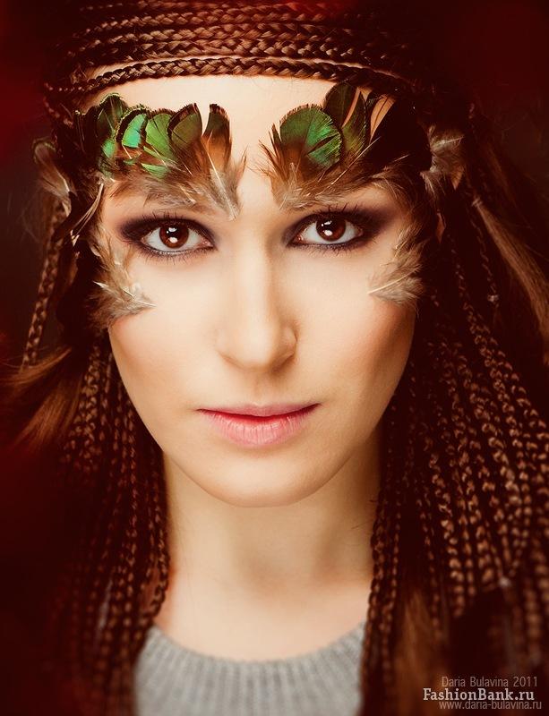 Ksenia Korneychuk model & fashion designer (Ксения Корнейчук модель & модельер). Photoshoot of model Ksenia Korneychuk demonstrating Face Modeling.Face Modeling Photo #104180