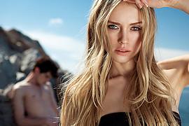 Ksenia Sukhinova model (Ксения Сухинова модель). Photoshoot of model Ksenia Sukhinova demonstrating Face Modeling.Face Modeling Photo #111174