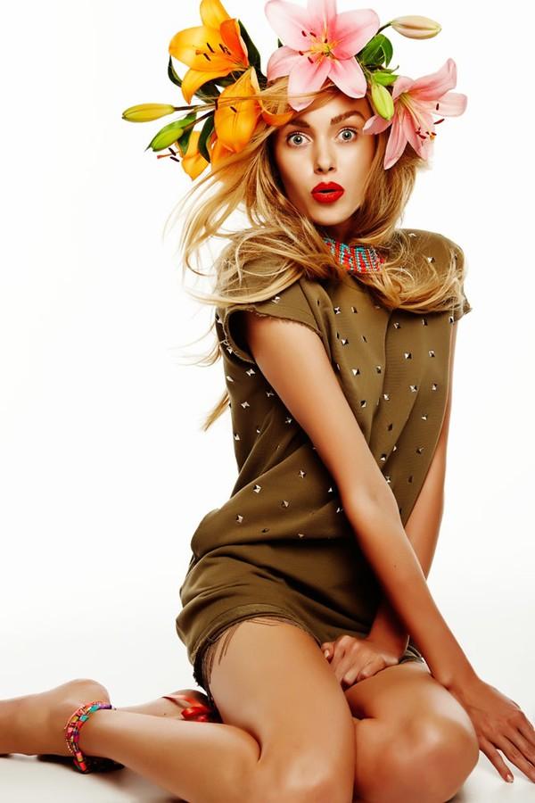 Ksenia Sukhinova model (Ксения Сухинова модель). Photoshoot of model Ksenia Sukhinova demonstrating Fashion Modeling.Fashion Modeling Photo #111186