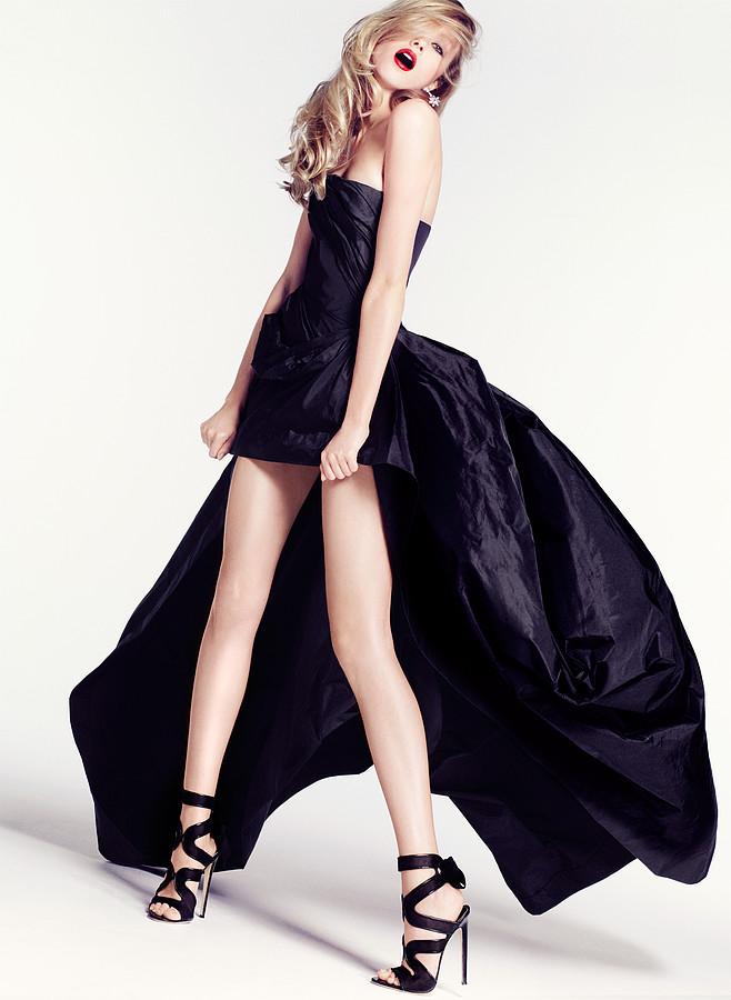 Ksenia Sukhinova model (Ксения Сухинова модель). Photoshoot of model Ksenia Sukhinova demonstrating Fashion Modeling.Evening DressFashion Modeling Photo #94876
