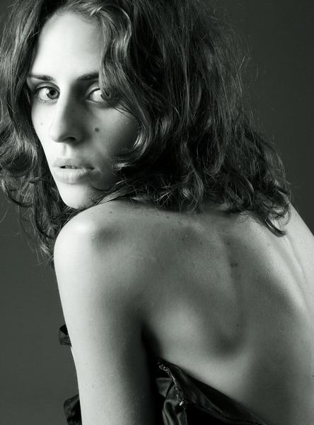 Kseniia Rebenko model (Ксения Ребенко modèle). Photoshoot of model Kseniia Rebenko demonstrating Face Modeling.Face Modeling Photo #74189