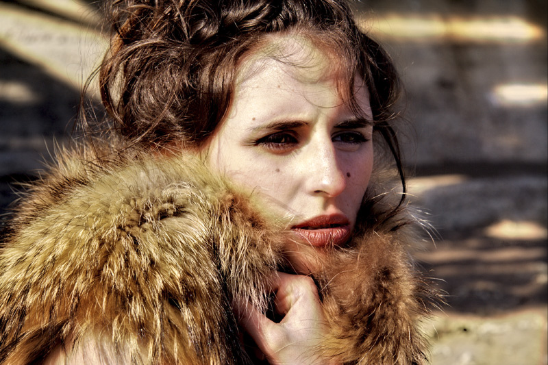 Kseniia Rebenko model (Ксения Ребенко modèle). Photoshoot of model Kseniia Rebenko demonstrating Face Modeling.Face Modeling Photo #74193