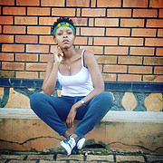 Anita is a non professional model from Kampala, Uganda (Africa) who models for fun and in her own choice of clothes. She is a casual smart l