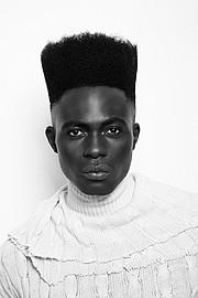 Kwen Victor Akomaye model. Photoshoot of model Kwen Victor Akomaye demonstrating Face Modeling.Face Modeling Photo #161633