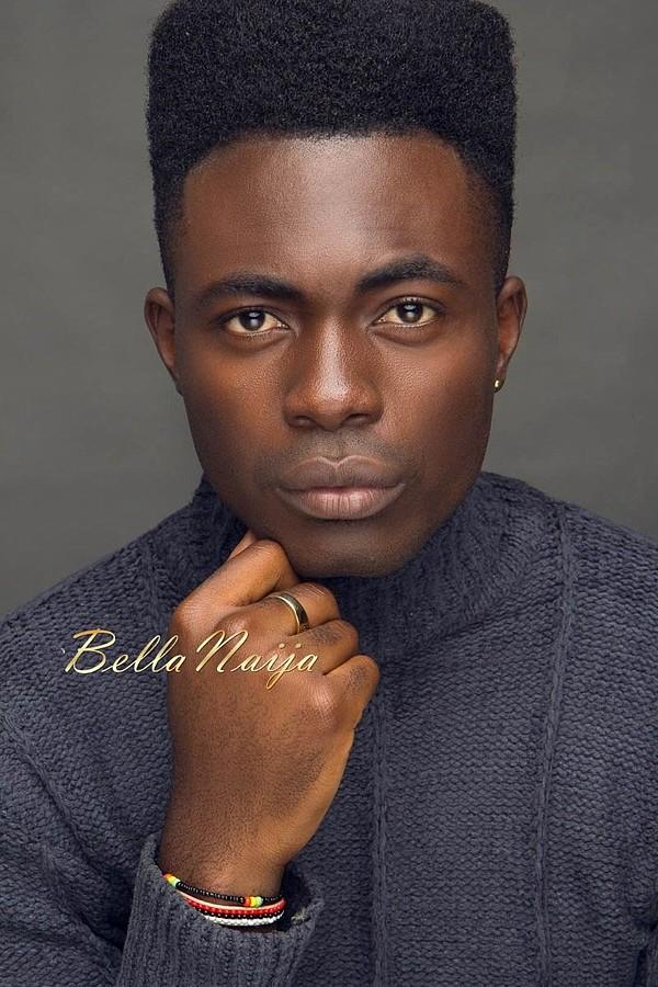 Kwen Victor Akomaye model. Photoshoot of model Kwen Victor Akomaye demonstrating Face Modeling.Face Modeling Photo #161638