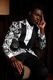 Kwen Victor Akomaye model. Photoshoot of model Kwen Victor Akomaye demonstrating Fashion Modeling.Fashion Modeling Photo #68560