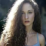 Kyleigh Mccollam model. Photoshoot of model Kyleigh Mccollam demonstrating Face Modeling.Face Modeling Photo #120722