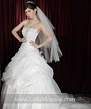 Laila Monroe bridal fashion designer. design by fashion designer Laila Monroe. Photo #136330