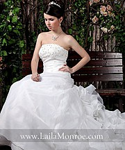 Laila Monroe bridal fashion designer. design by fashion designer Laila Monroe. Photo #136331