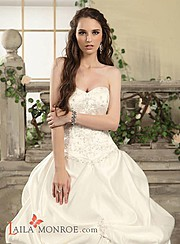 Laila Monroe bridal fashion designer. design by fashion designer Laila Monroe. Photo #136334