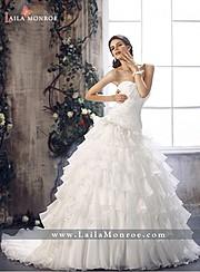 Laila Monroe bridal fashion designer. design by fashion designer Laila Monroe.Wedding Gown Design Photo #136341
