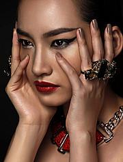 Lam Tran photographer. Work by photographer Lam Tran demonstrating Portrait Photography.Necklace,RingPortrait Photography Photo #103115