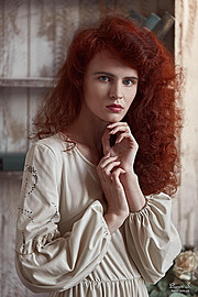 Lana Melaschich model (модель). Photoshoot of model Lana Melaschich demonstrating Face Modeling.Face Modeling Photo #156392
