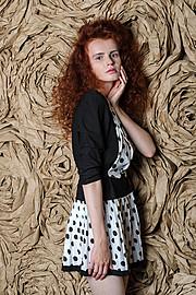 Lana Melaschich model (модель). Photoshoot of model Lana Melaschich demonstrating Fashion Modeling.Fashion Modeling Photo #156394
