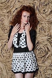 Lana Melaschich model (модель). Photoshoot of model Lana Melaschich demonstrating Fashion Modeling.Fashion Modeling Photo #156395