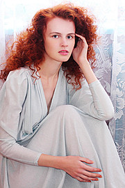 Lana Melaschich model (модель). Photoshoot of model Lana Melaschich demonstrating Face Modeling.Face Modeling Photo #156404