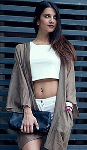 Lara Riad model. Photoshoot of model Lara Riad demonstrating Fashion Modeling.Fashion Modeling Photo #151984