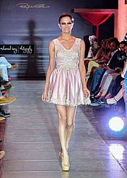 Lara Riad model. Photoshoot of model Lara Riad demonstrating Runway Modeling.Runway Modeling Photo #151988