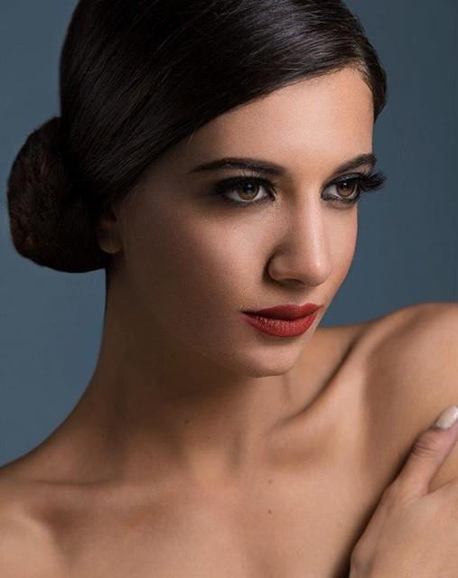 Lara Riad model. Lara Riad demonstrating Face Modeling, in a photoshoot by Hady Geneidi.photographer: Hady Geneidi stylist: Nour Bayadi hair: Mohamed Al SagheerFace Modeling Photo #157426