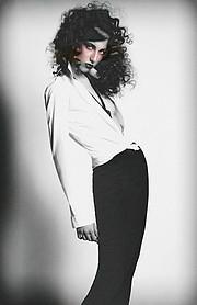 Larissa Portolani model (modelo). Modeling work by model Larissa Portolani. Photo #198749