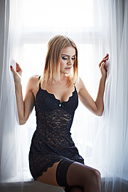 Larus Sigurdarson photographer (Lárus Sigurðarson ljósmyndari). Work by photographer Larus Sigurdarson demonstrating Fashion Photography in a photo-session with the model Actress María Birta.model: actress María BirtaMakeup by Þóra KristínLingerieF