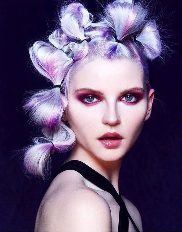 Lauren Mcgee model. Photoshoot of model Lauren Mcgee demonstrating Face Modeling.Face Modeling Photo #232285
