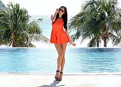 Lauren Vickers model. Photoshoot of model Lauren Vickers demonstrating Fashion Modeling.Fashion Modeling Photo #120734