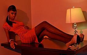 Laveena Dawson model. Photoshoot of model Laveena Dawson demonstrating Fashion Modeling.Fashion Modeling Photo #96554