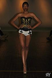 Laveena Dawson model. Photoshoot of model Laveena Dawson demonstrating Runway Modeling.Runway Modeling Photo #96562