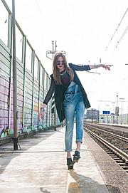 Lavinia Villoresi model (modella). Photoshoot of model Lavinia Villoresi demonstrating Fashion Modeling.Fashion Modeling Photo #134923