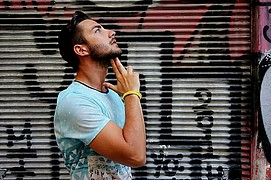 Lazaros Moutafidis model (μοντέλο). Photoshoot of model Lazaros Moutafidis demonstrating Fashion Modeling.Fashion Modeling Photo #201999