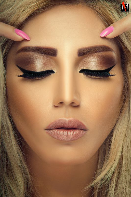 Professional Makeup Artists In Kenya: لين العيسي Makeup Artist On Modelisto