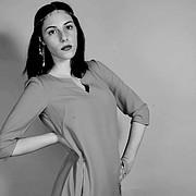 Lia Natoudy model (μοντέλο). Photoshoot of model Lia Natoudy demonstrating Fashion Modeling.Fashion Modeling Photo #204301