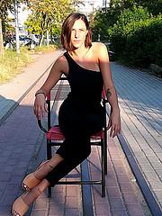 Lia Natoudy model (μοντέλο). Photoshoot of model Lia Natoudy demonstrating Fashion Modeling.Fashion Modeling Photo #204639