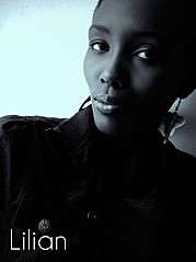 Lilian Kosgei model. Photoshoot of model Lilian Kosgei demonstrating Face Modeling.Face Modeling Photo #109562
