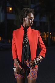 Lilian Mmbando model. Photoshoot of model Lilian Mmbando demonstrating Fashion Modeling.Fashion Modeling Photo #186699