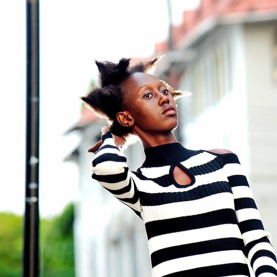 Lilian Mmbando model. Photoshoot of model Lilian Mmbando demonstrating Fashion Modeling.Fashion Modeling Photo #186741