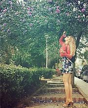 Lina Hartiou model (μοντέλο). Photoshoot of model Lina Hartiou demonstrating Fashion Modeling.Fashion Modeling Photo #208153