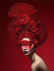 Lindsay Adler fashion photographer. Work by photographer Lindsay Adler demonstrating Portrait Photography.Face PaintingPortrait Photography Photo #105901