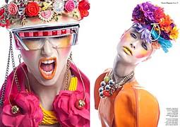Lindsay Adler fashion photographer. Work by photographer Lindsay Adler demonstrating Fashion Photography.Necklace,EyewearFashion Photography Photo #54172