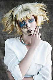 Lisa Hasselgren photographer. Work by photographer Lisa Hasselgren demonstrating Portrait Photography.Beauty-editorial for ZINK MagazinePortrait Photography Photo #115578