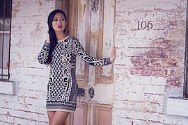 Lisa Ma model. Photoshoot of model Lisa Ma demonstrating Fashion Modeling.Fashion Modeling Photo #71429